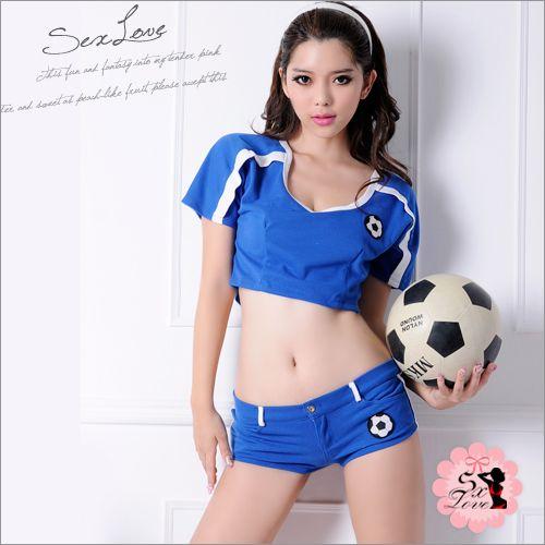 :私校體育服.可愛女高生運動服(藍)