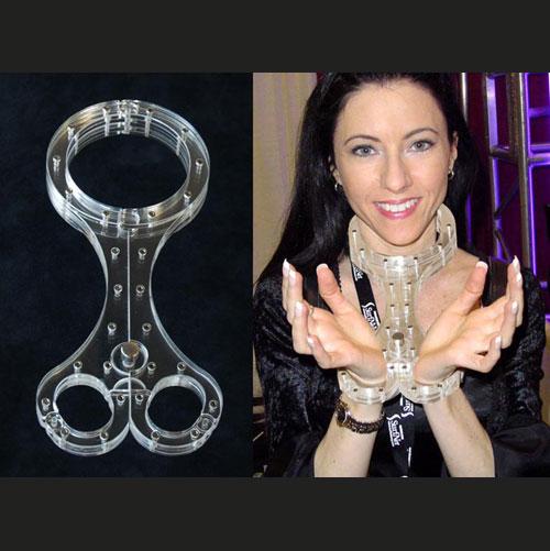 人型水晶枷 (奴隸專用型枷鎖)