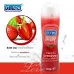 :英國DUREX*香甜草莓潤滑液