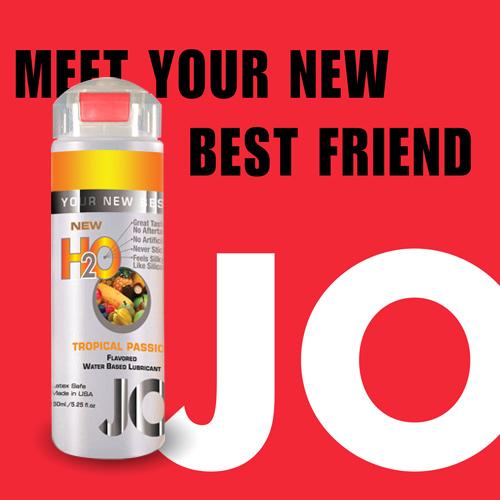 美國JO*H2O水溶性潤滑液(150ml)熱帶水果 (可當口交液)