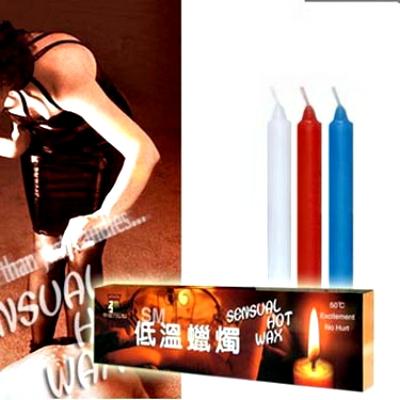 :高級低溫級蠟燭(三支裝細長型)