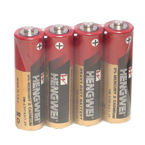 滿1000元贈品*3號環保碳鋅電池(4顆入)
