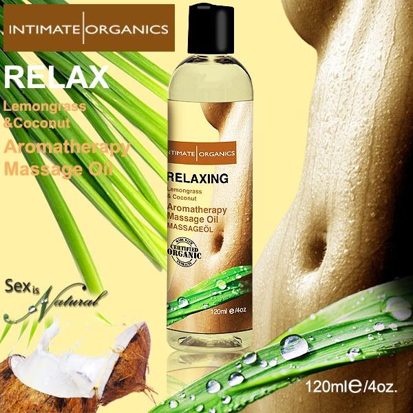 加拿大Intimate*RELAX薰香按摩油-檸檬&椰子(120ml)