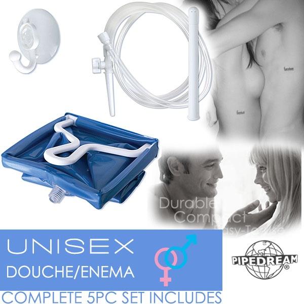 :美國PIPEDREAM*Unisex Douche-Enema 大容量2L 前後庭清洗注射器