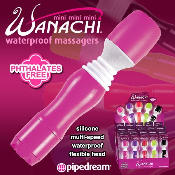 美國PIPEDREAM*Mini Mini Mini Wanachi 美式AV女優按摩棒S(粉)