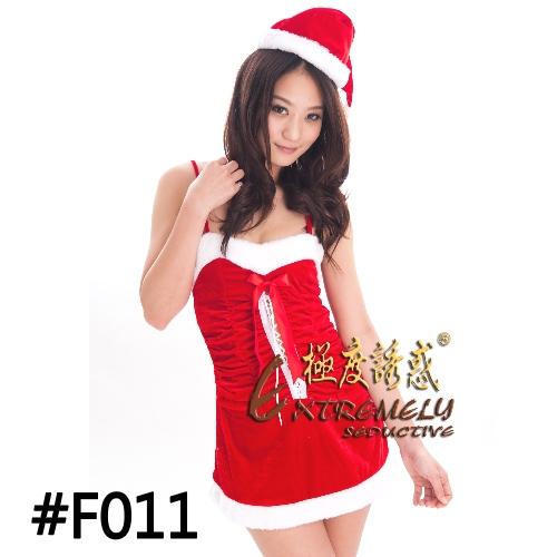 耶誕美計-可愛聖誕服 F011