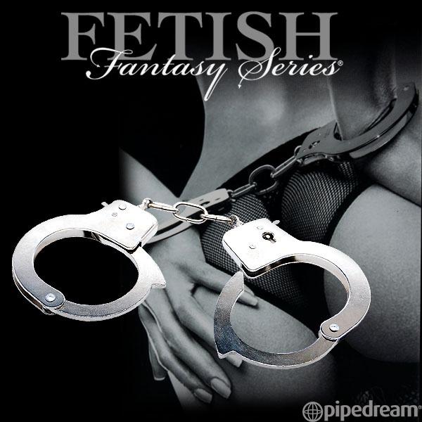 美國PIPEDREAM*Fetish Fantasy系列-高級金屬手銬