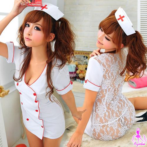 :火辣護士!媚惑三件式護士服