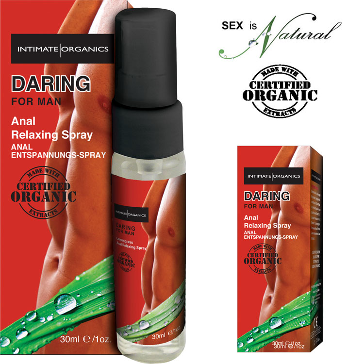 加拿大Intimate*男性氣魄-後庭relax噴霧 30ml(Daring Anal relaxing spray For man)