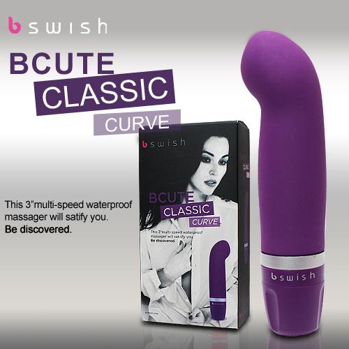 美國Bswish*bcute curve第二代曲線款G點按摩器(熱情紫)