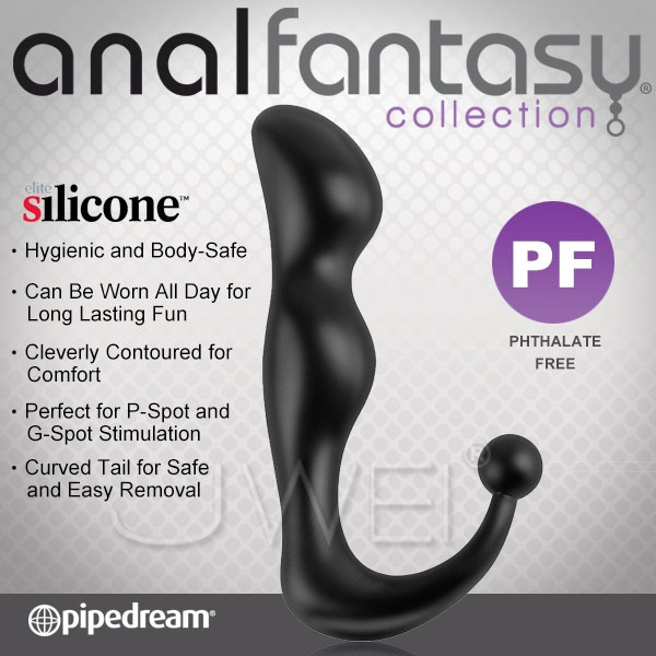 : 美國PIPEDREAM*Anal Fantasy-elite silicone後庭精英矽膠系列-前列腺剌激按摩棒-Deluxe Perfect Plug