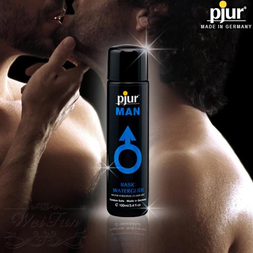 德國pjur*MAN BASIC男同志專用水性潤滑油100ml