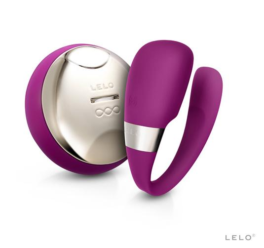 瑞典LELO*TIANI 3 deep rose US蒂阿妮 3代 設計版 遙控情侶共震按摩器-玫瑰紅