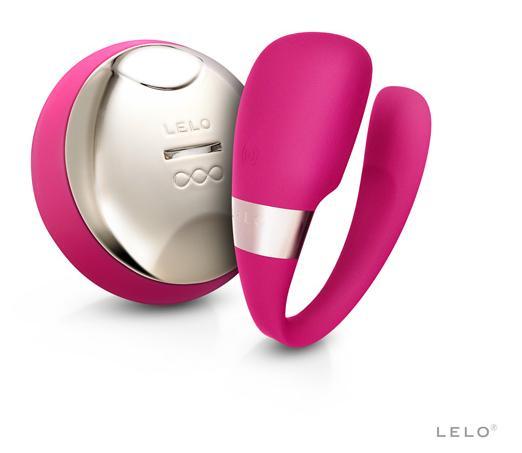 :瑞典LELO*TIANI 3 deep rose US蒂阿妮 3代 設計版 遙控情侶共震按摩器-櫻桃紅