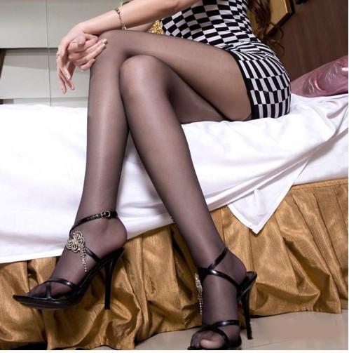 meizi 性感美腿 時尚魅惑連體褲襪-苞芯絲(夏季清涼顯瘦款) 透明黑