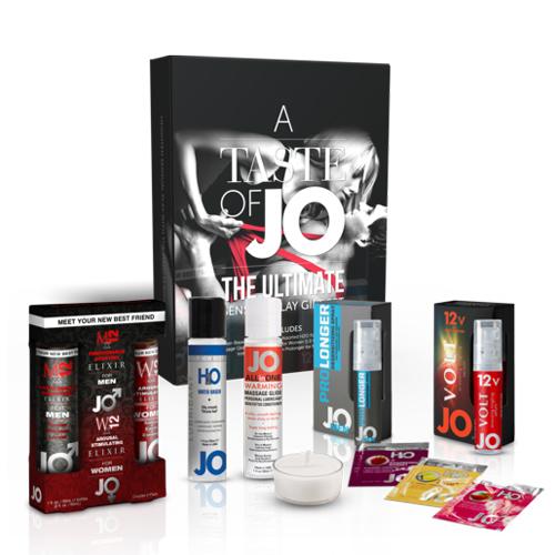 美國JO*A Taste of JO Gift Set終極情侶禮品套裝 (內含潤滑油+威而柔)