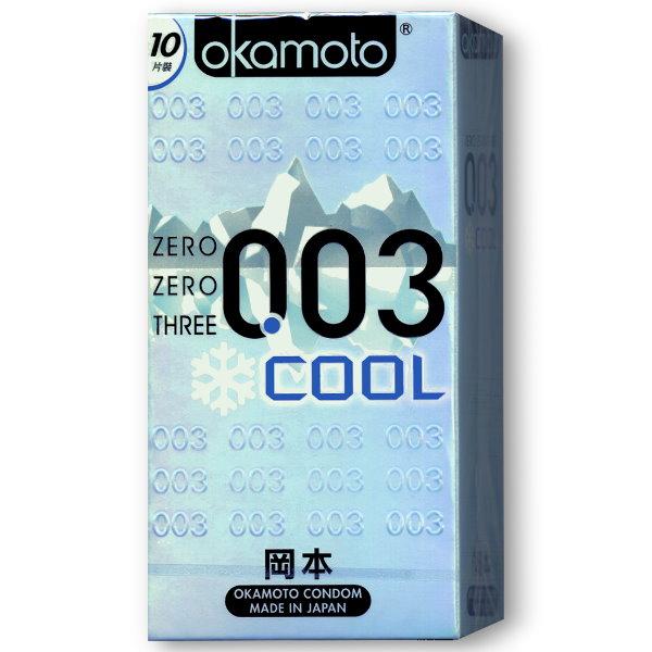 岡本OK-003 COOL衛生套(10入)保險套