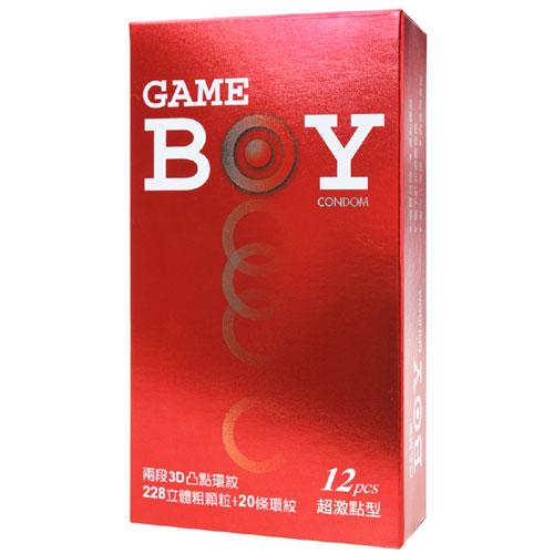 :GAMEBOY 勁小子-超激點型衛生套-保險套 12片裝
