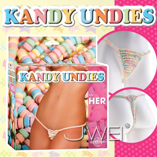 :美國原裝進口PIPEDREAM.EDIBLE KANDY UNDIES糖果丁字褲-for HER(女用)