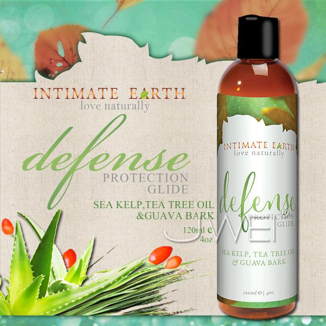 :美國Intimate-Earth.defense 護理潤滑液-海藻&茶樹精油 (120ml)