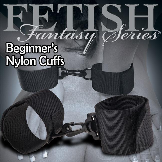 :美國原裝進口PIPEDREAM.Fetish Fantasy系列-Limited Edition Beginners Nylon Cuff 初學者的尼龍手銬