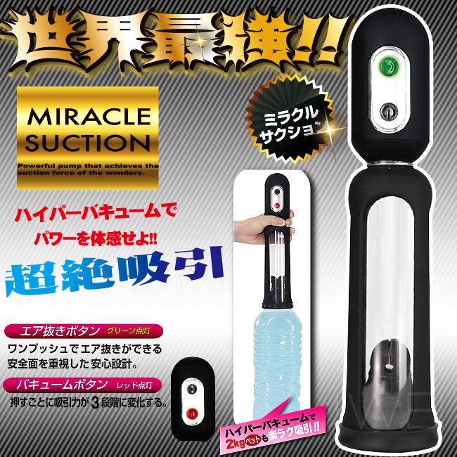 日本原裝進口NPG.--------- 奇蹟3段吸力真空吸吮助勃器