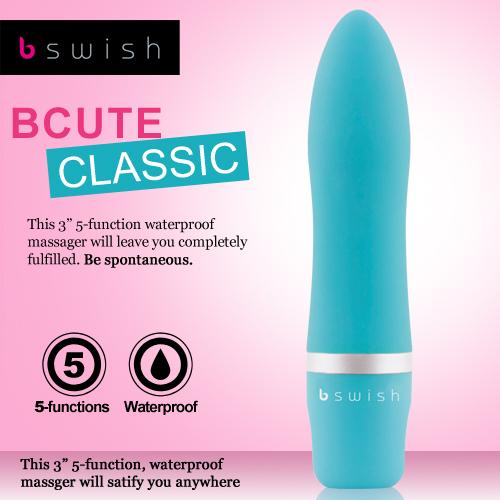 :美國Bswish-Bcute Classic 第3代 5段變頻經典款按摩器-翡翠綠