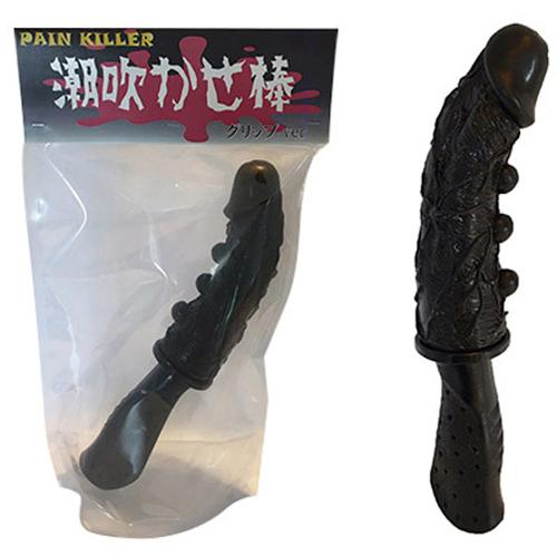 日本原裝進口NPG-潮吹--棒 入珠擬真按摩棒----Ver 黑色