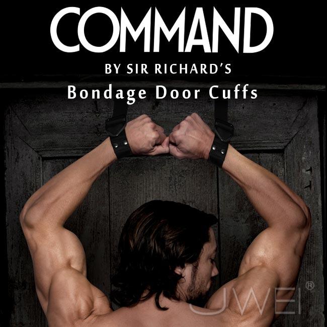 :美國原裝進口PIPEDREAM.COMMAND Sir Richards命令系列 Bondage Door Cuffs SM奴役門頂級SM尼龍手銬