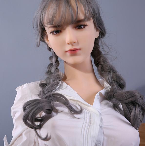 校花Xiyelisi智慧.全實體矽膠不銹鋼變形骨骼娃娃 真人版168公分